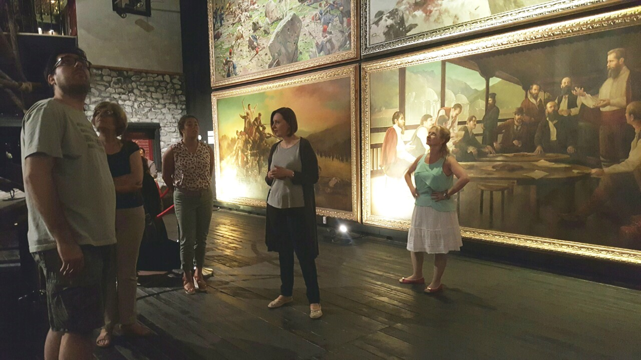 Practice at the Museum of the Macedonian Struggle
